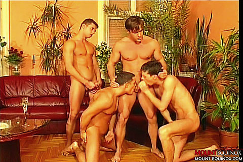 Paired up Muscle Men Fucking Clip # 5