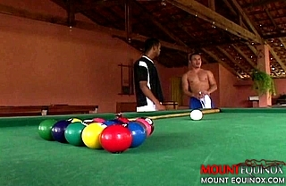 Bareback Latin Pool Table Fuck #1: Free Gay Video