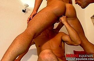 Tan Muscle Hunks Fucking #2: Free Gay Video