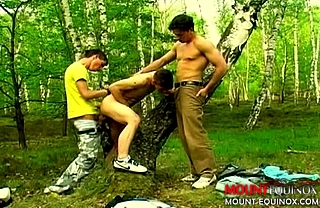 Skater Dudes Three-Some #4: Free Gay Video