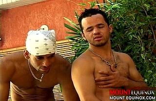 Latin Stud Fuck Machine #1: Free Gay Video