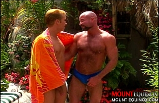 Hairy Daddy takes Son #1: Free Gay Video