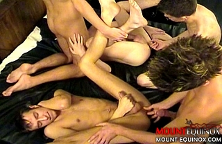 Five Boys Bangin #4: Free Gay Video