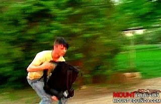 Skater Dudes Three-Some #1: Free Gay Video