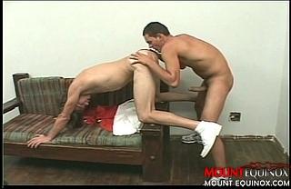 Latino Fucks Blond Stud #3: Free Gay Video