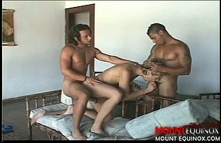 Young Stud Takes on Two #2: Free Gay Video
