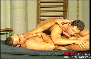 Doubled Stuffed Muscle Hunk #3: Free Gay Video